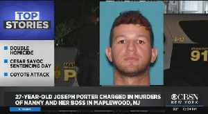 Man Charged In Murders Of Au Pair, Her Boss In Maplewood, NJ [Video]