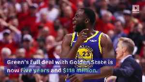 Draymond Green Agrees to $100 Million Extension With Warriors [Video]