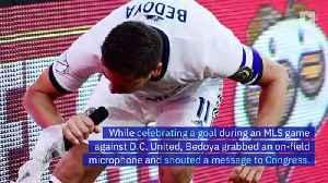 Soccer Player Alejandro Bedoya Calls for Congress to End Gun Violence [Video]
