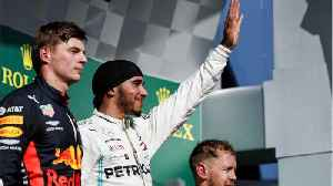 News video: Hamilton pushes out Verstappen at Hungarian Grand Prix