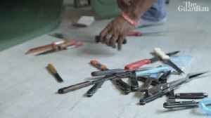 One man's fight to get knives off the streets of London –video [Video]