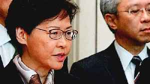 Carrie Lam denounce protesters for 'disruption' of Hong Kong [Video]