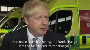 Boris Johnson announces NHS funding boost in Lincolnshire [Video]