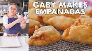 Gaby makes Empanadas [Video]