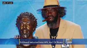 Ed Reed Officially A Member Of The Pro Football Hall Of Fame [Video]