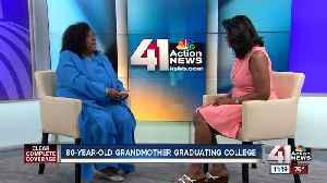 Grandmother graduates college [Video]