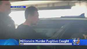 News video: Newport Beach Fugitive Peter Chadwick, Suspected In Wife's 2012 Murder, Captured In Mexico