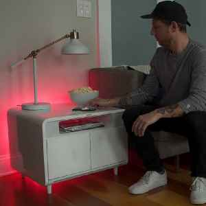 Amazing smart table keeps your beer cold, has wireless charging and bluetooth speakers [Video]
