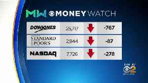News video: Stocks Slide On Wall Street As China Trade War Heats Up