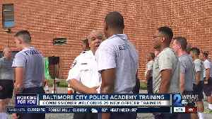 Baltimore City Police Academy welcomes 29 new trainees [Video]