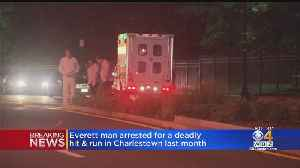 Man Arrested In Connection With Fatal Hit And Run In Charlestown [Video]
