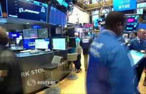 News video: Dow tumbles 3% amid escalating trade war