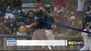 Frontier League: Otters Get Swept At Home [Video]