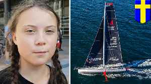 Greta Thunberg will sail to New York for UN climate summit [Video]