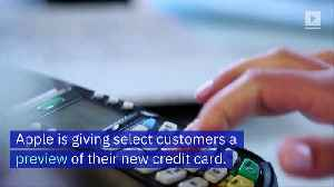 Apple Begins Rollout of the Apple Card [Video]