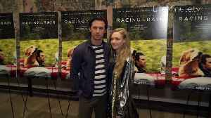 Milo Ventimiglia and Amanda Seyfried Share Chemistry On and Off the Screen at The Art of Racing in the Rain NYC Premiere [Video]