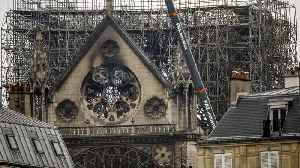 News video: Notre Dame Cathedral Cleanup To Resume After Lead Concerns