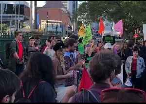 Climate Activists Rally at Extinction Rebellion Protest in Brisbane [Video]