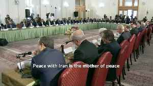 """""""War with Iran is the mother of all wars"""" - Iran president [Video]"""