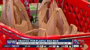 Hearing held for plastic bag ban in Baltimore [Video]