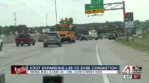KDOT expanding I-35 to east congestion [Video]
