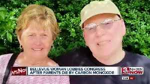 Bellevue woman pushes Congress for change after parents die by carbon monoxide poisoning [Video]