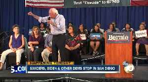 Bernie Sanders holds town hall campaign event in Vista [Video]