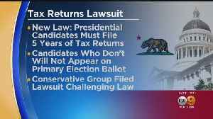 Group Files Suit Against New State Law Requiring Tax Returns From Presidential, Gubernatorial Candidates [Video]