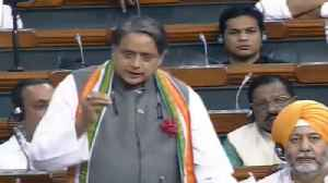 'Political equivalent of demonetisation': Shashi Tharoor on Article 370 [Video]