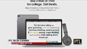 Tech Center: Back To School Technology Savings [Video]