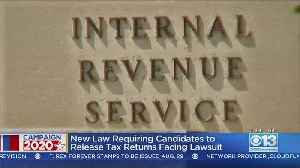 Four Californians Sue To Block Presidential Tax Return Release Law [Video]