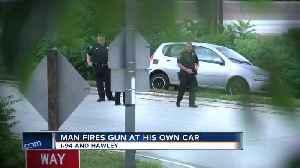 Man abandons vehicle, fires shots after crash on 94 [Video]