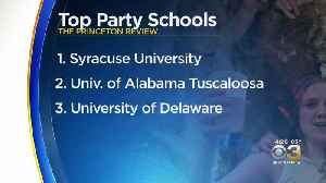University Of Delaware Loses Crown As Top Party School [Video]