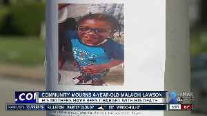 Community mourns 4-year-old Malachi Lawson [Video]