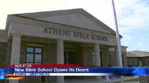 New Bible School Opens Its Doors [Video]