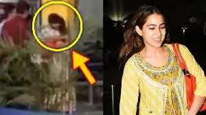 Kartik Aaryan TIGHT HUG TO Sara Ali Khan At Airport Caught On Camera [Video]