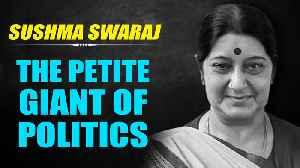 Sushma Swaraj passes away at 67 years, leaves behind a legacy [Video]