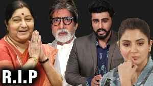 Bollywood Reacts On Sushma Swaraj's Demise | Amitabh Bachchan, Anushka Sharma [Video]