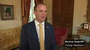 Raab says he has discussed post-Brexit Britain with Trump [Video]