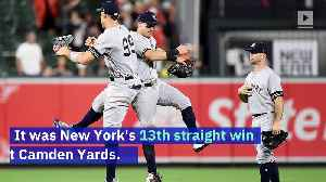 Yankees Set New Home Run Record in Visiting Ballpark in Win Over Orioles [Video]
