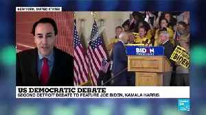 US Democratic debate : Detroit debate to feature Joe Biden, Kamala Harris [Video]