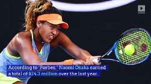 Naomi Osaka Named the Second Highest-Paid Female Athlete [Video]
