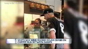 White Sox send rookie Dylan Cease on coffee run between games [Video]