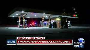Man injured in shooting at King Soopers gas station in Castle Rock; 3 suspects at-large, police say [Video]