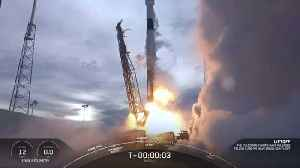 SpaceX Falcon 9 rocket launches satellite [Video]