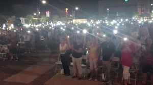 Vigil Held for El Paso Shooting Victims in Neighboring City of Las Cruces [Video]