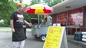 Worried about losing his job he became 'Dan Dan The Hot Dog Man' [Video]