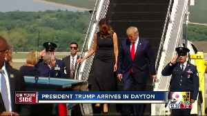 President Trump visits Dayton, El Paso today after mass shootings [Video]