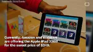 Amazon Offers Apple iPads At Discount [Video]