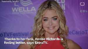Denise Richards Receives Help From Fans To Diagnose Health Issue [Video]
